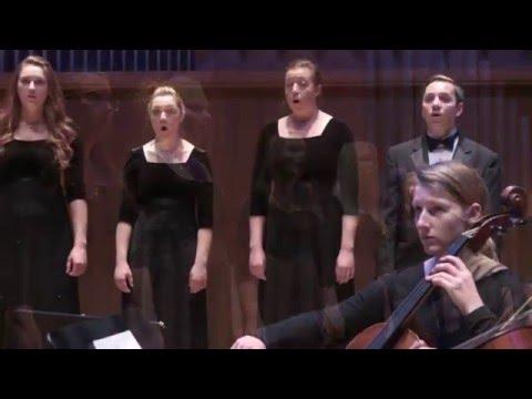 The College of Idaho Chamber Singers — Hallelujah, Amen (from Judas Maccabaeus), by G.F. Handel