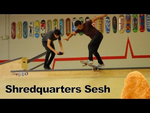 [Skating Shredquarters with Doug Des Autels, NinjaLifestyle, and Carlos Lastra]