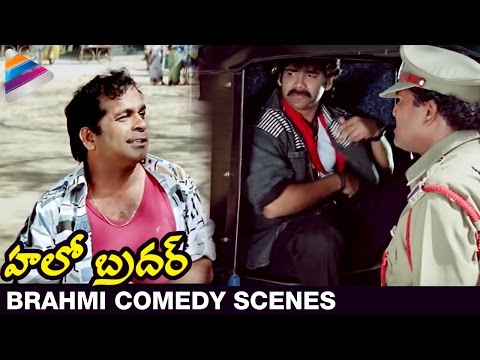 Brahmanandam Back To Back Comedy Scenes - Hello Brother Movie video