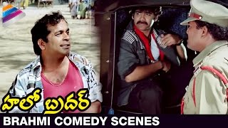 Brahmanandam Back to Back Comedy Scenes - Hello Brother Movie