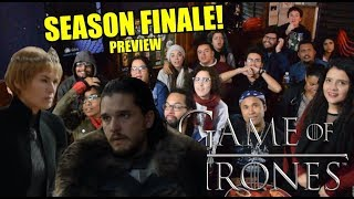 Game of Thrones SEASON FINALE PREVIEW! Brazilian Pub Reaction - Sena's Bar