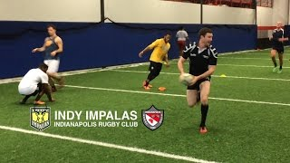 Indy Impalas - Tuesday Indoor Rugby Practice