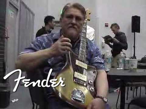 Don Wilson talks about his Fender® Jazzmaster® guitar