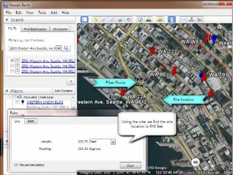 Pricing out IP transit with AboveNET using google earth