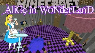 Minecraft: Alice in Wonderland (Custom Map) - Part 1