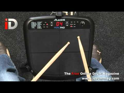 Alesis PercPad & Sample Pad Review with Ian Croft iDrum Magazine