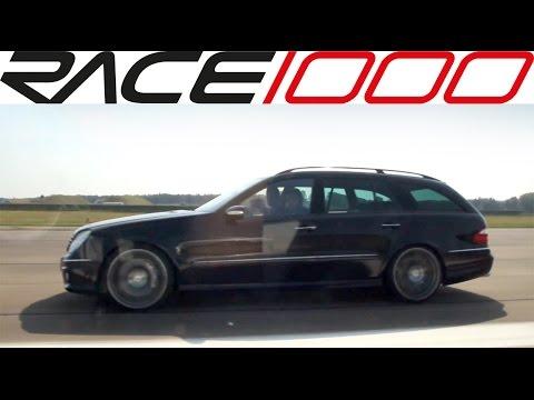 Mercedes E55 AMG vs. Mercedes CLK 63 AMG - ROLL RACE