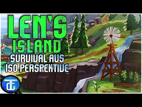 Len's Island Deutsch 🔵 Farm und Aufbau - Simulator aus ISO-Perspektive