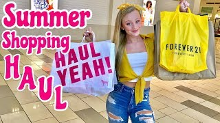 Summer Shopping Spree HAUL 2019 with Ella