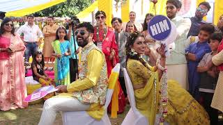 Funniest 'Who' Game | Bride Groom Game | Indian Wedding | Mehandi | Anchor Girish Sharma