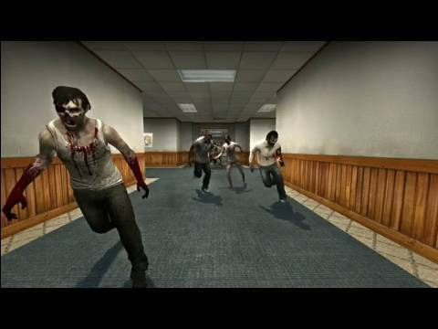 Zombie Invasion in Counter Strike! (L4D2, HD-Video) Music Videos
