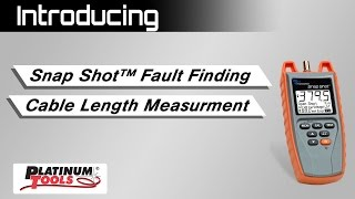 TSS200 SnapShot Fault Finding/Cable Length Measurement SSTDR