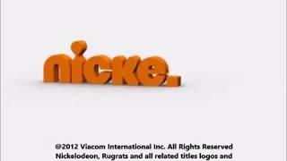 Klasky Csupo Robot Logo Nickelodeon Productions (2012)