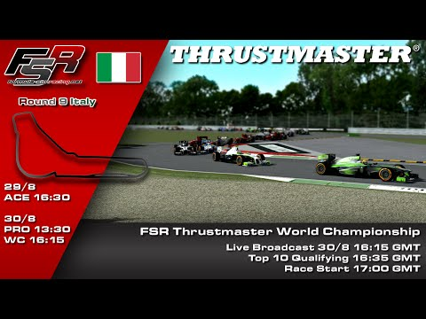 FSR 2015 Broadcasts - Thrustmaster World Championship Round 9, Italy