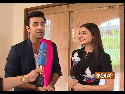 Ranbir Kapoor and Anushka Sharma talk about  'Bombay Velvet'
