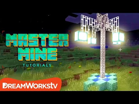 How to Build a Working Streetlight in Minecraft with Millie Ramsey | MASTER MINE TUTORIALS