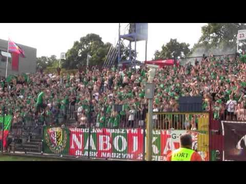 Pogoń Szczecin - Śląsk Wrocław: doping (I połowa)