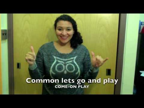 Do You Want to Build a Snowman? [Frozen] ASL Cover