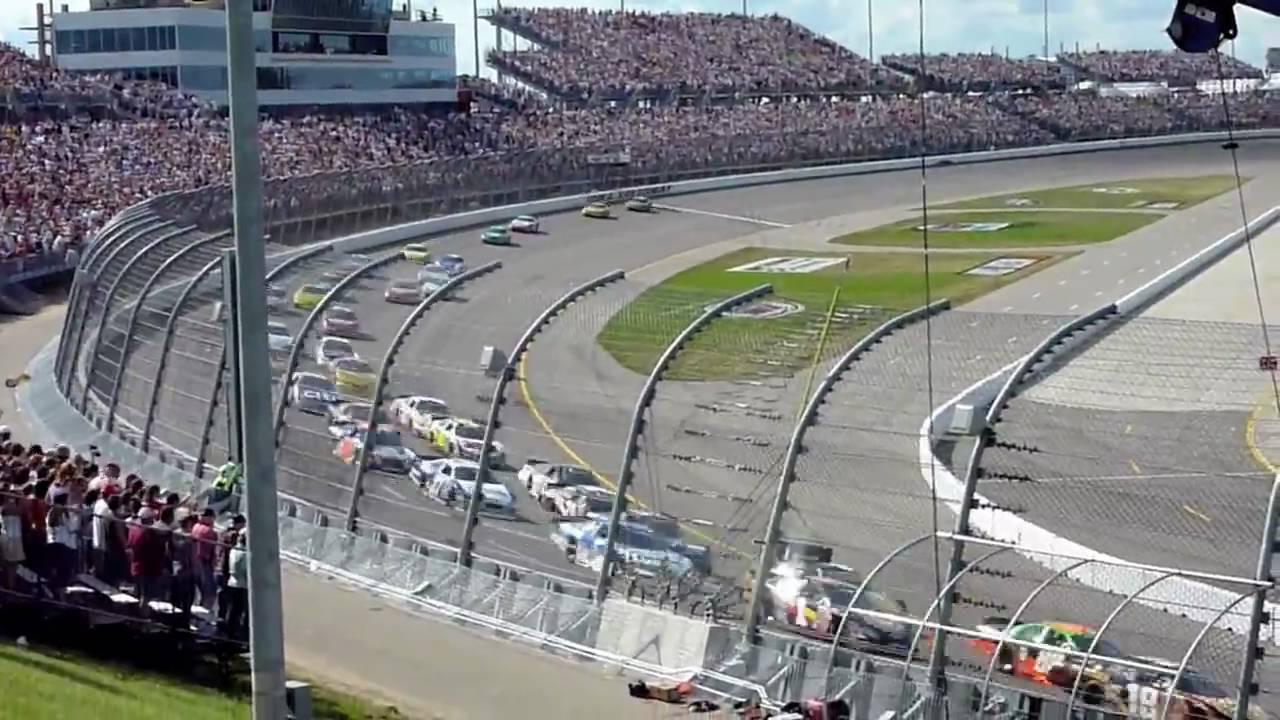 Iowa Speedway Nascar Nationwide Series - YouTube