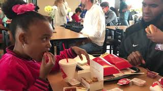 Girls hate Dad's smoothie and goes to Chick-Fil-A🍗🍟