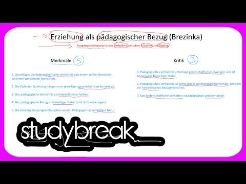 Erziehung Als Pädagogischer Bezug, Brezinka | Pädagogik | Bildungswissenschaften