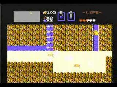 Legend of Zelda (NES) Walkthrough Part 01 Video