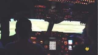 Private Tour of the Kalitta B747-200 Flight Sim