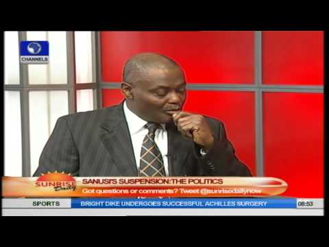 Sanusi Suspension: Nothing Wrong In Nomination Of New CBN Governor - Nnaji Pt.2