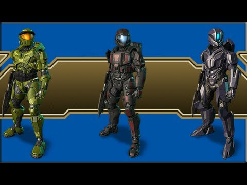 Halo 4: Infinity Armor Pack - YouTube
