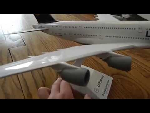 [MODEL REVIEW] Lufthansa Airbus A380-800 Skymarks 1:200 Scale