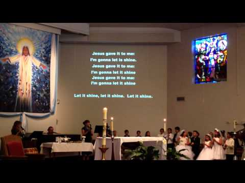 Final song performed by Mr. Thompson -  Our Lady of The Assumption Catholic Church, Claremont, CA. - 06/09/2014