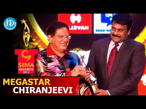 Megastar Chiranjeevi@SIIMA 2014 Brand Ambassdor Of Indian Cinema  Part 9