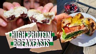 3 Healthy Breakfast Ideas\ High protein, easy, yummy