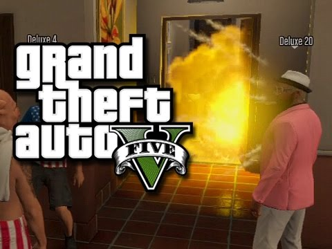 GTA 5 Online Moments - Birthday Party Disaster and Kevin Hart! (GTA V Funny Skits/Glitches!)