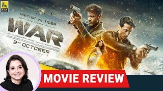 War | Bollywood Movie Review by Anupama Chopra | Hrithik Roshan | Tiger Shroff