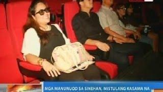 NTG: Mga manunuod sa sinehan, mistulang kasama na sa pelikula sa 4DX Cinema