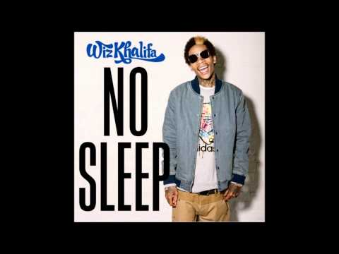 Wiz Khalif-No Sleep(Lyrics)