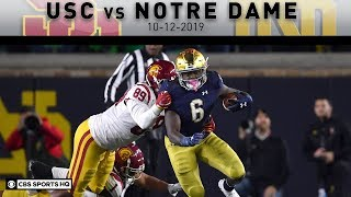 USC vs Notre Dame Breakdown: No.9 Irish ride Jones' 176 yards to victory over USC | CBS Sports HQ