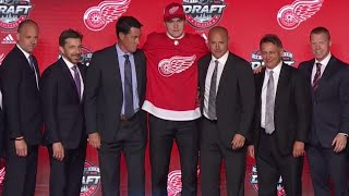 Red Wings draft Michael Rasmussen ninth overall