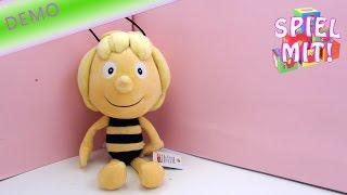 biene maja youtube - Die Biene Maya Plüsch Puppe von Studio 100 unboxing demo und review