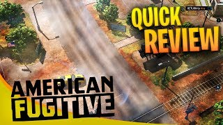 American Fugitive Review - A flawed but solid open world GTA like game