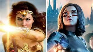 Wonder Woman & Alita Battle Angel