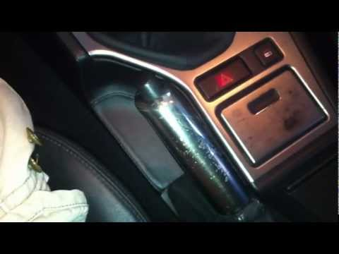 BMW E39. E46 Emergency Brake Handle Install