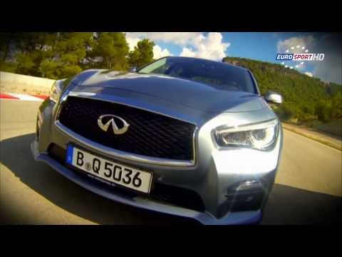 (French) Eurosport coverage from our Q50 test drive event