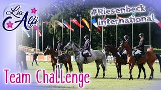 Lia & Alfi - Jumping Team Challenge - internationales Turnier in Riesenbeck