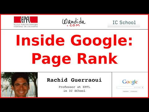 Inside Google: Page Rank | Rachid Guerraoui
