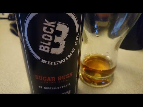 Block 3 Sugar Bush Maple Ale - #686 - Maxwell Starr's Beer Review