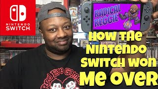 How the Nintendo Switch won me over (Current Switch collection)