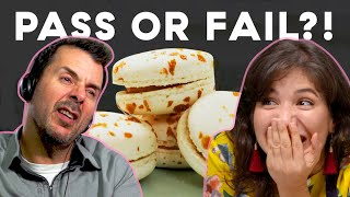 Amateur Baker Attempts To Make French Macarons For FIRST Time | Fake It Til You Bake It