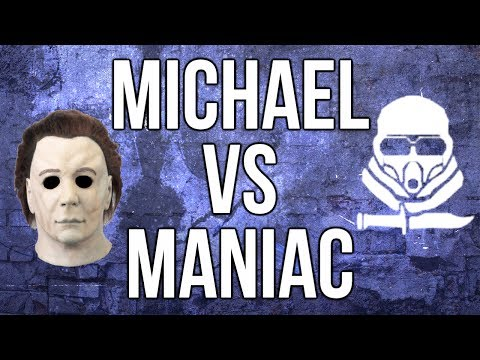 Ghosts In Depth - Michael Myers vs. Maniac Juggernaut (Health. Run Speed. Damage)
